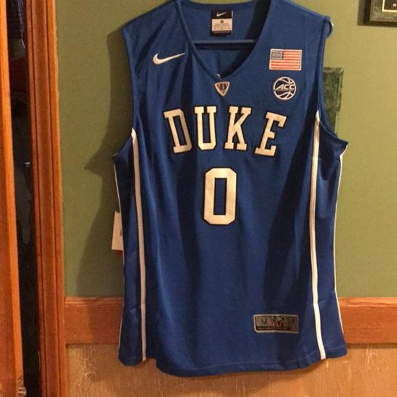 new style 5b9f8 77e08 Jayson Tatum #0 Duke Jersey Jersey Sz: M